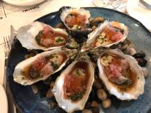 oysters good ..very ex S$35 for 6