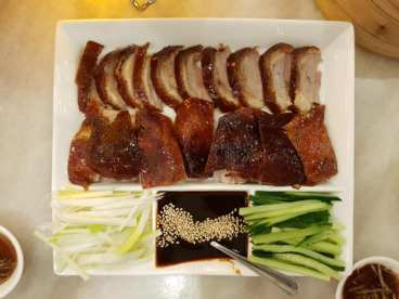 peking duck so so