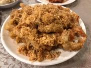 pork floss softshell crab