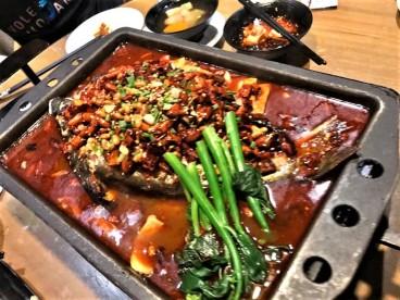 重庆烤鱼excellent grilled fish