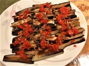 eggplants with chilli