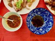 jogbal - chilled hock with mala vinegar dip