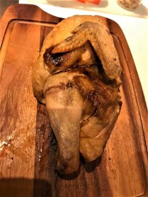 roast truffle 1/2 chicken