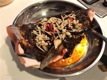 spicy black bean sauce song fish head