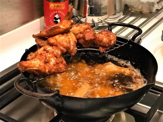 red fermented beancurd deepfried chicken wings