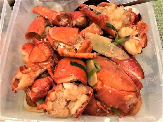lobster in superior stock上汤焗