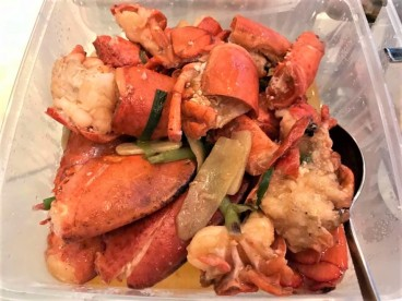 2 lobsters in superior stock上汤焗