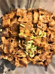 chashu and shabu beef rice