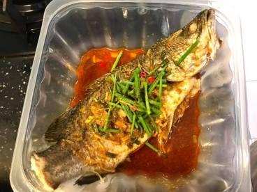 gimson nonya sauce steamed seabass