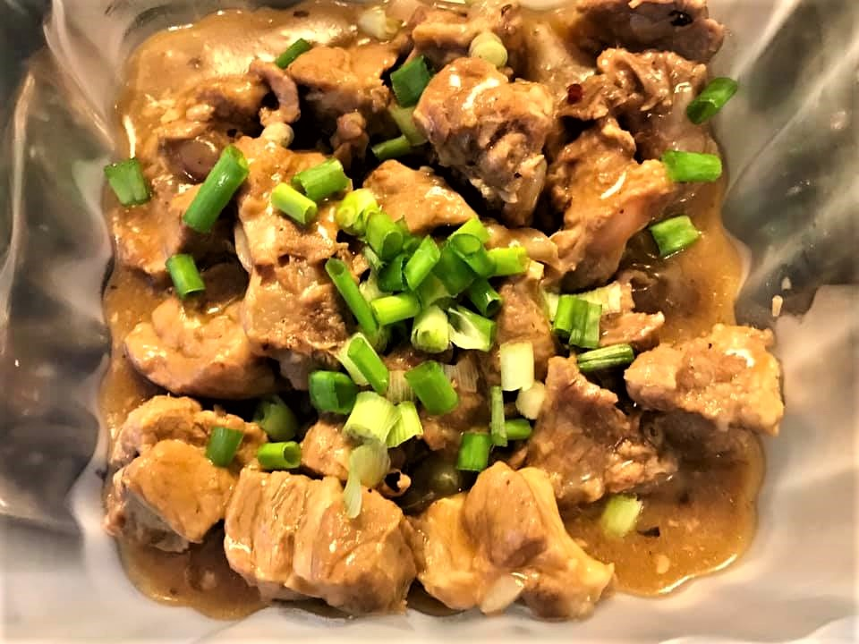 steamed pork soft bones2