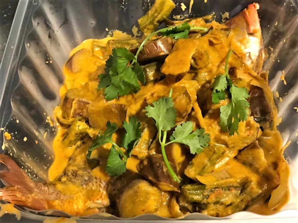 thai style whole fish (ang choe) curry3