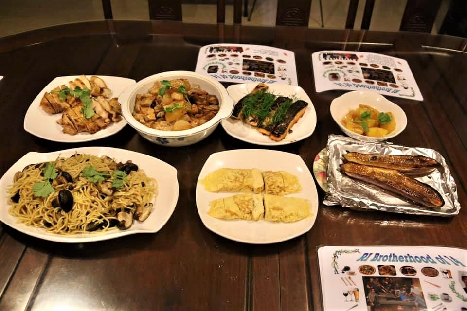 japanese dinner dishes